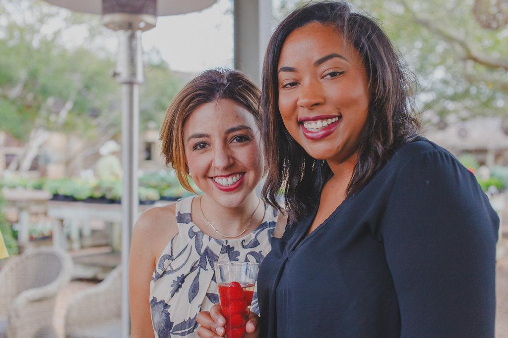 Galentine's Day Brunch 2017   Kourtnie Freeman and Meggie Mangione