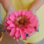 Alaan Studios's Kourtnie Freeman's beautiful paper flower masterpiece