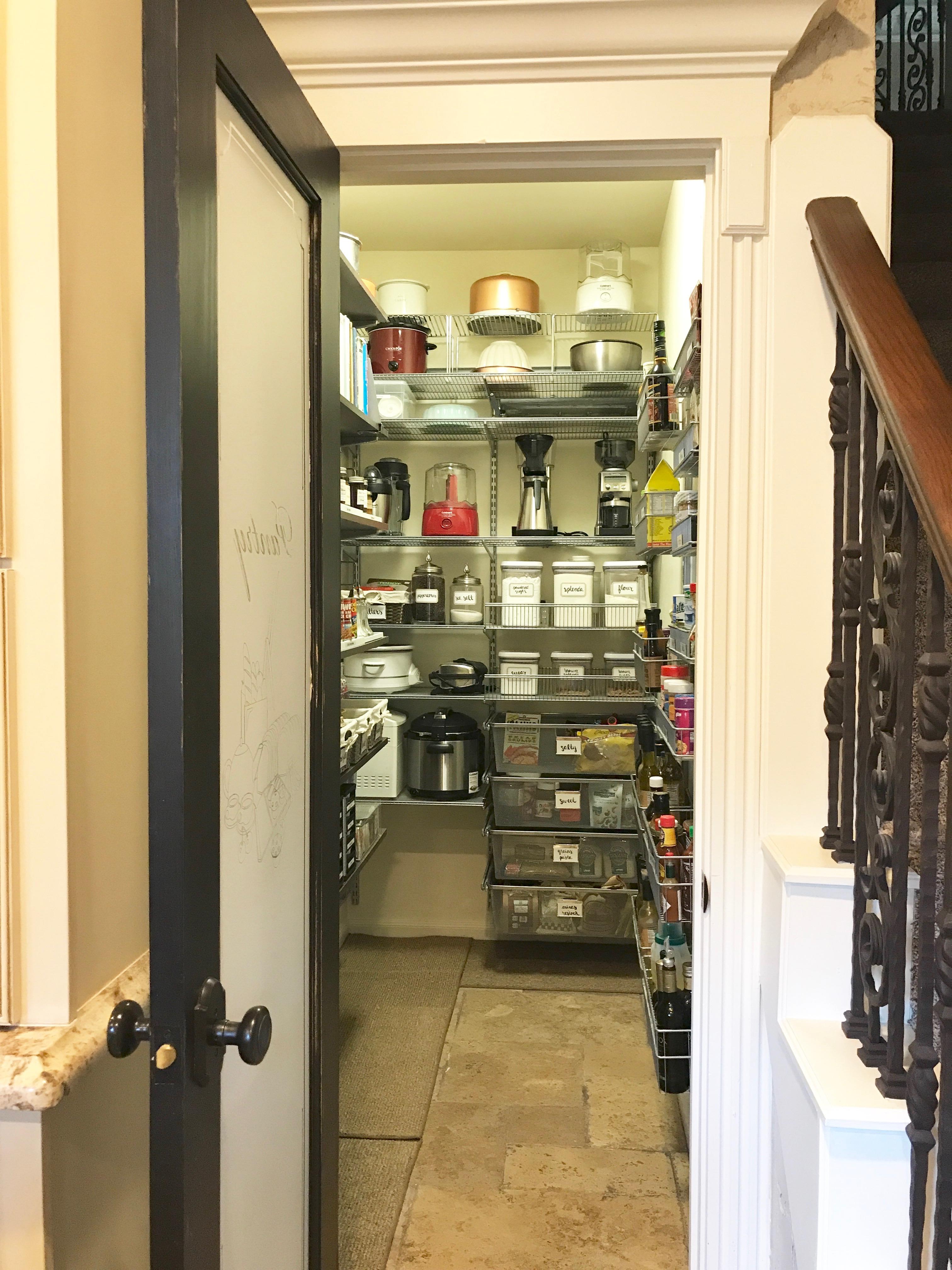 Organized Life Design | organized baker's pantry